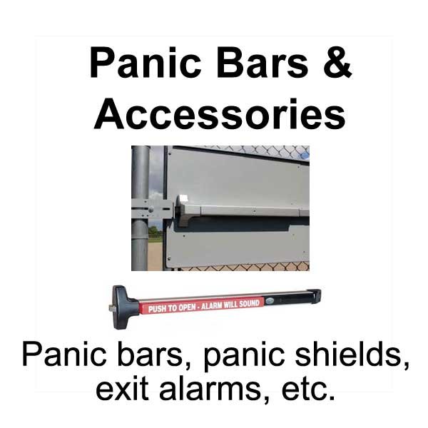 Panic Bars and Accessories