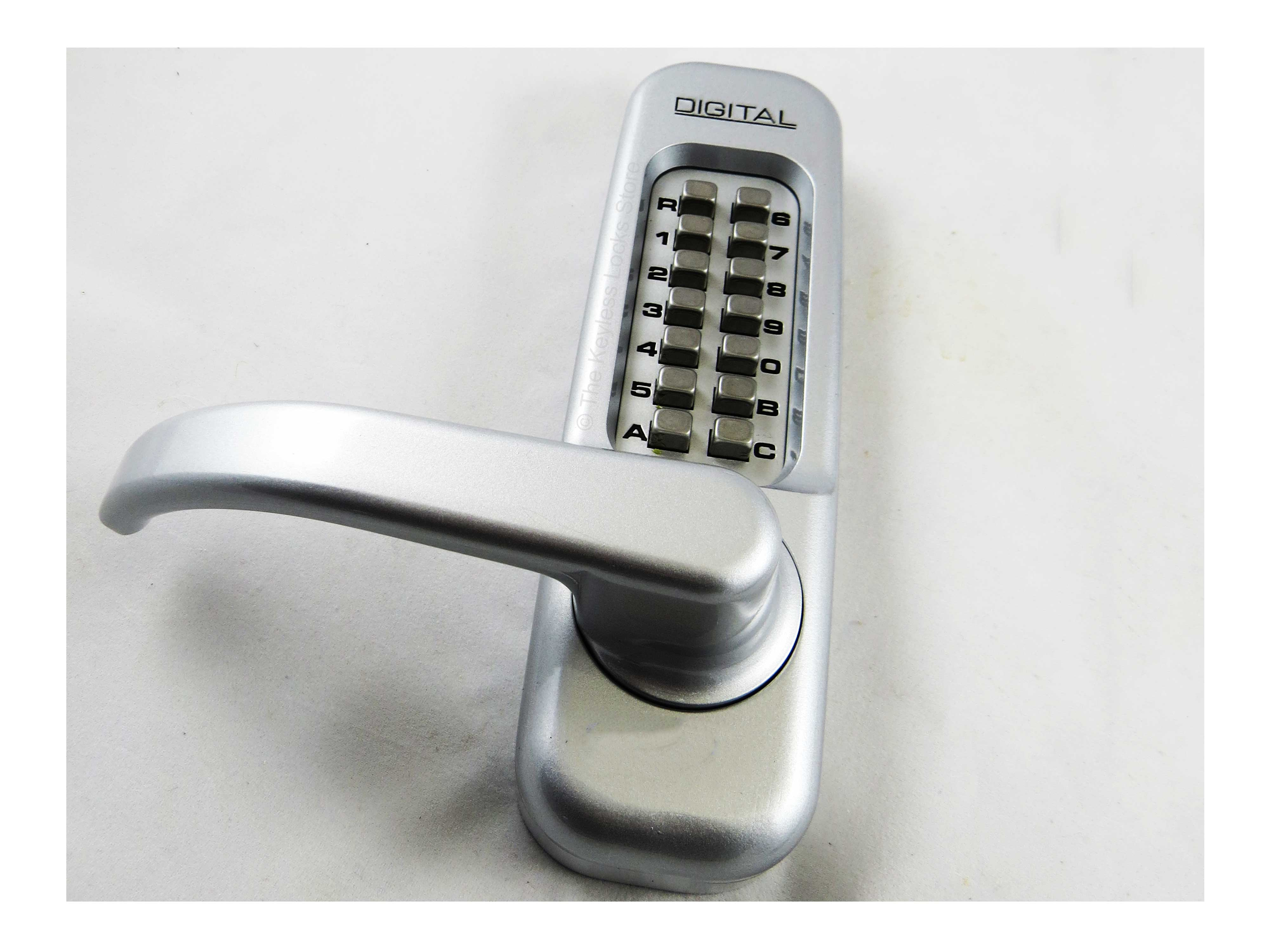 Lockey 1150DC Heavy-Duty Lever-Handle Latchbolt Double-Keypad Lock
