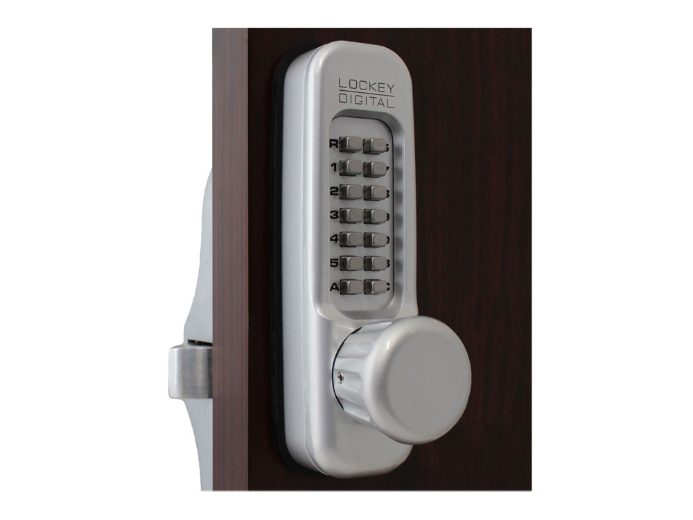 Lockey 160P Heavy-Duty Passage Knob-Handle Panic-Bar Keypad Lock