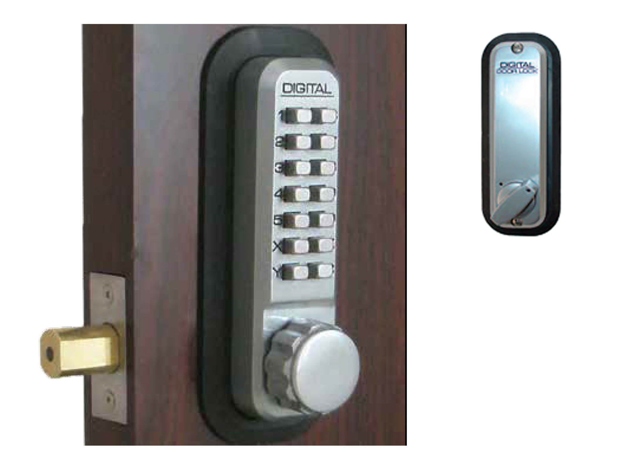 Lockey 2210 Deadbolt Keypad Lock - Click Image to Close