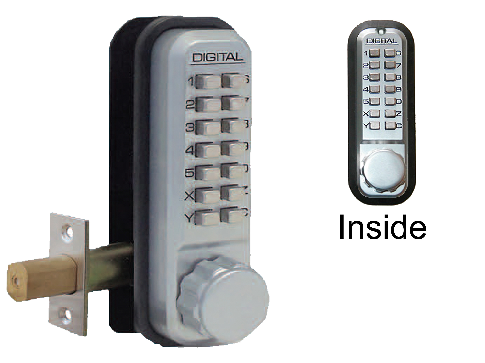 Lockey 2210DC Deadbolt Double-Keypad Lock