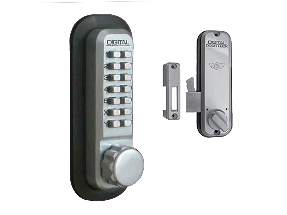 Lockey 2500 Surface Mount Hookbolt Keypad Lock Lockey 2500 Hookbolt