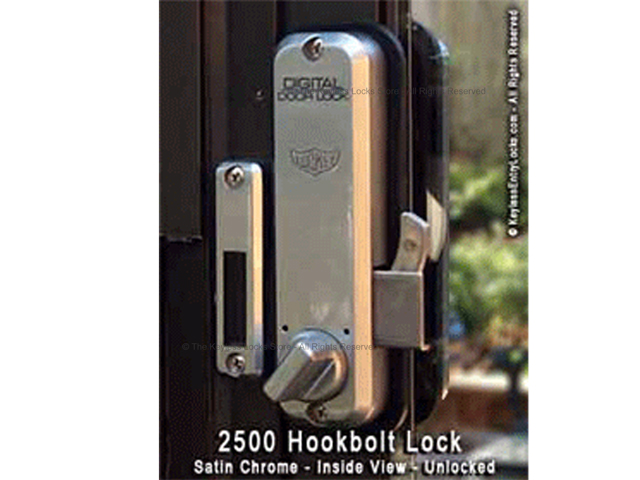 Lockey 2500 Surface-Mount Hookbolt Keypad Lock