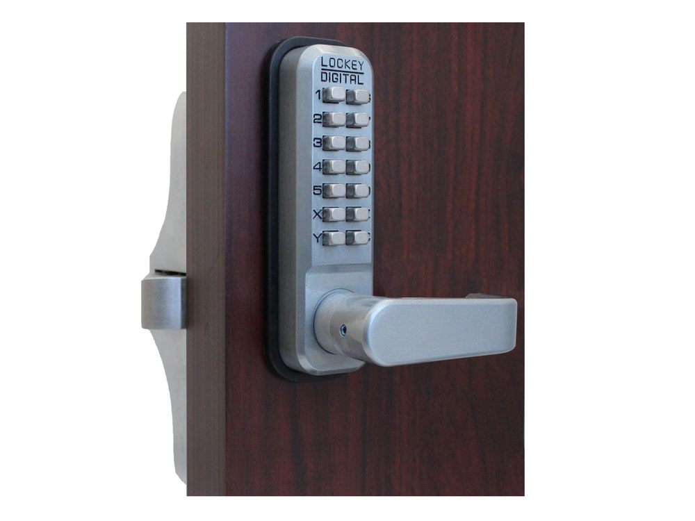 Lockey 285P Lever-Handle Panic-Bar Keypad Lock