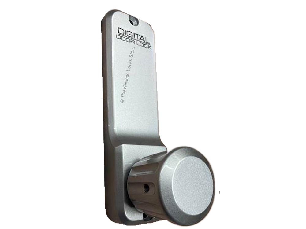 Lockey 2930 Narrow-Stile Passage Latchbolt Knob-Handle Keypad Lock