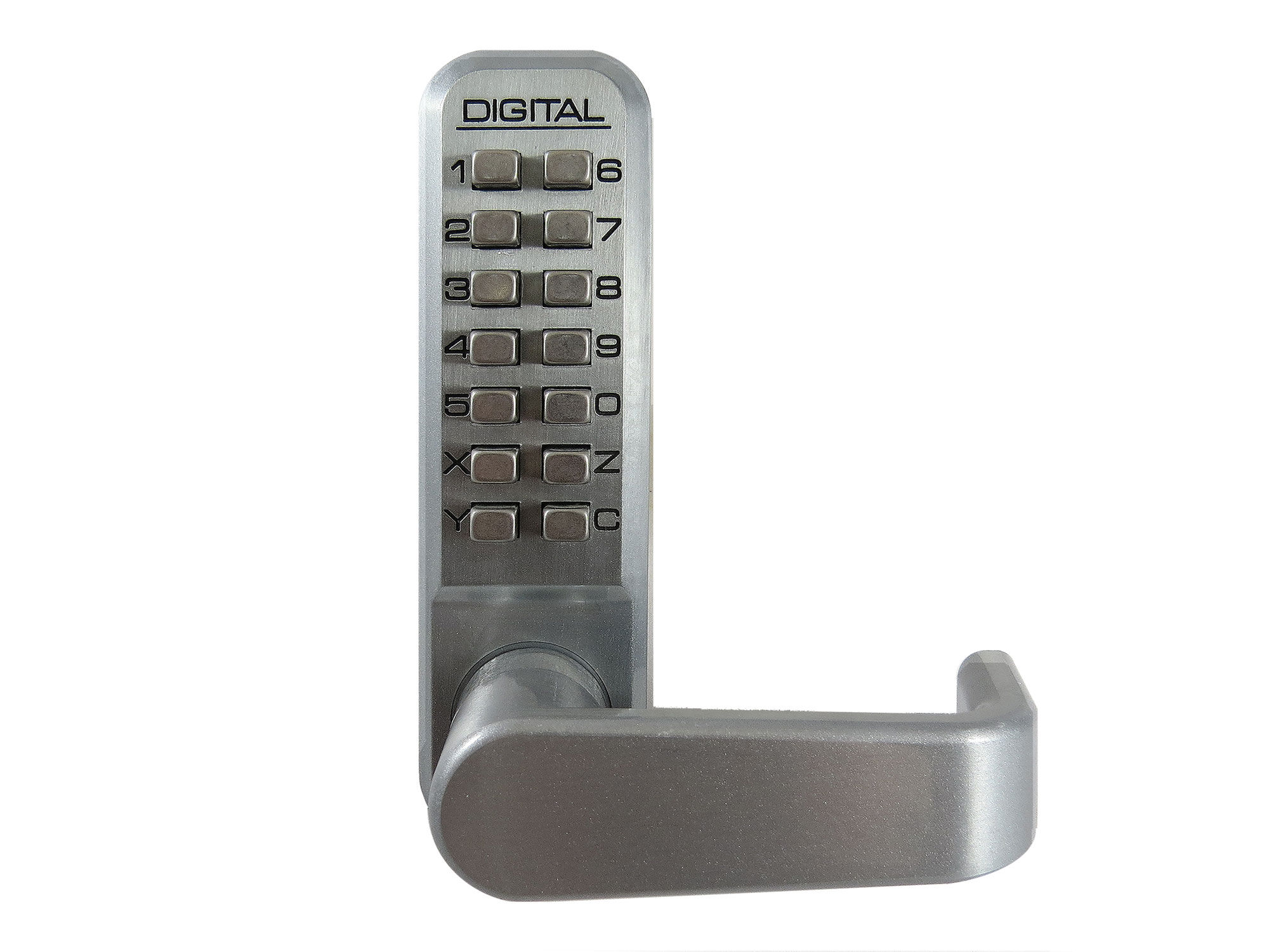 Lockey 2985DC Double-Keypad Narrow-Stile Passage Latchbolt Keypad Lock