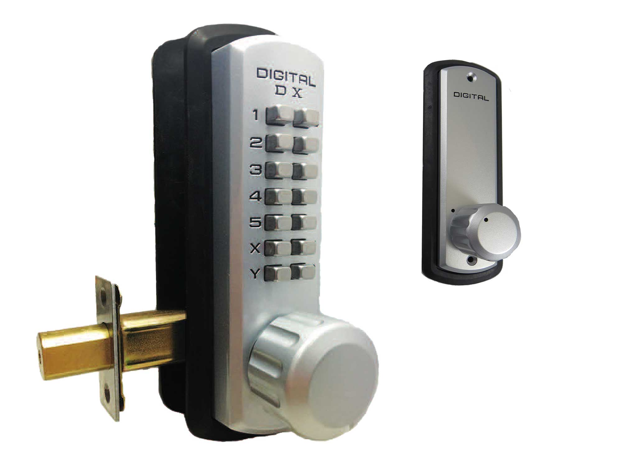 Lockey 3210 Marine-Grade Heavy-Duty Deadbolt Keypad Lock - Click Image to Close