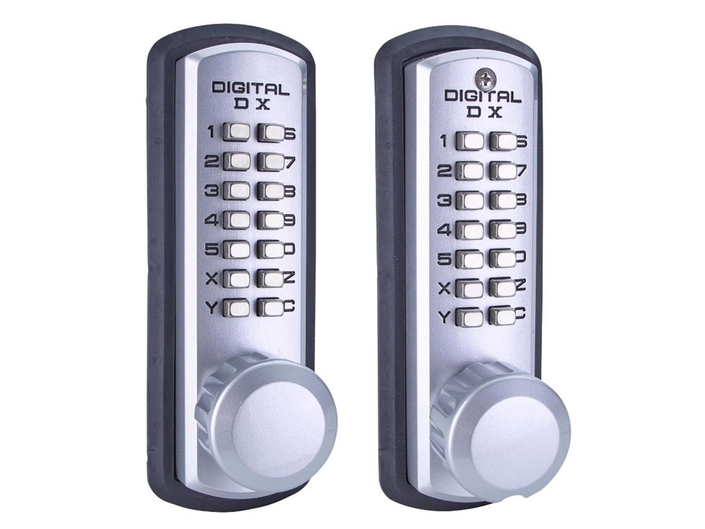 Lockey 3230DC Marine-Grade Heavy-Duty Latchbolt Double-Keypad Lock