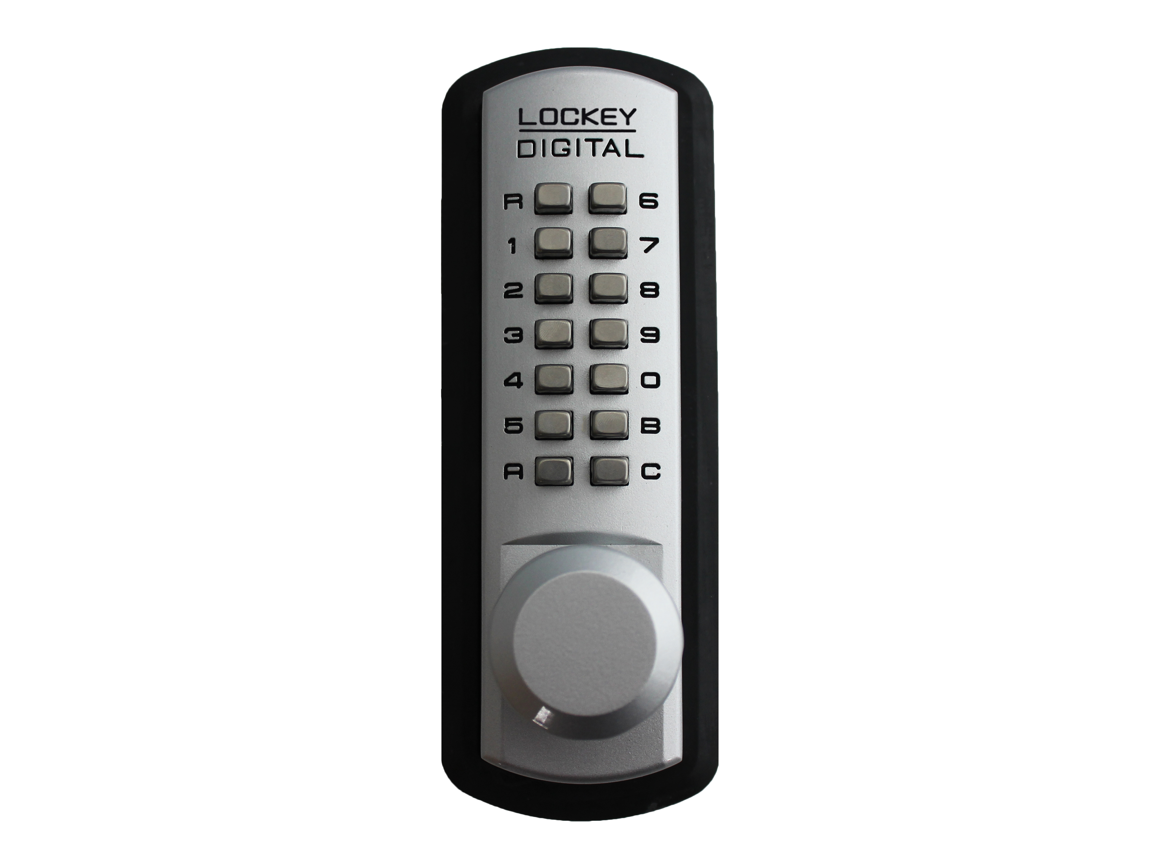 Lockey 3830 Passage Knob Latchbolt Keypad Lock - Click Image to Close