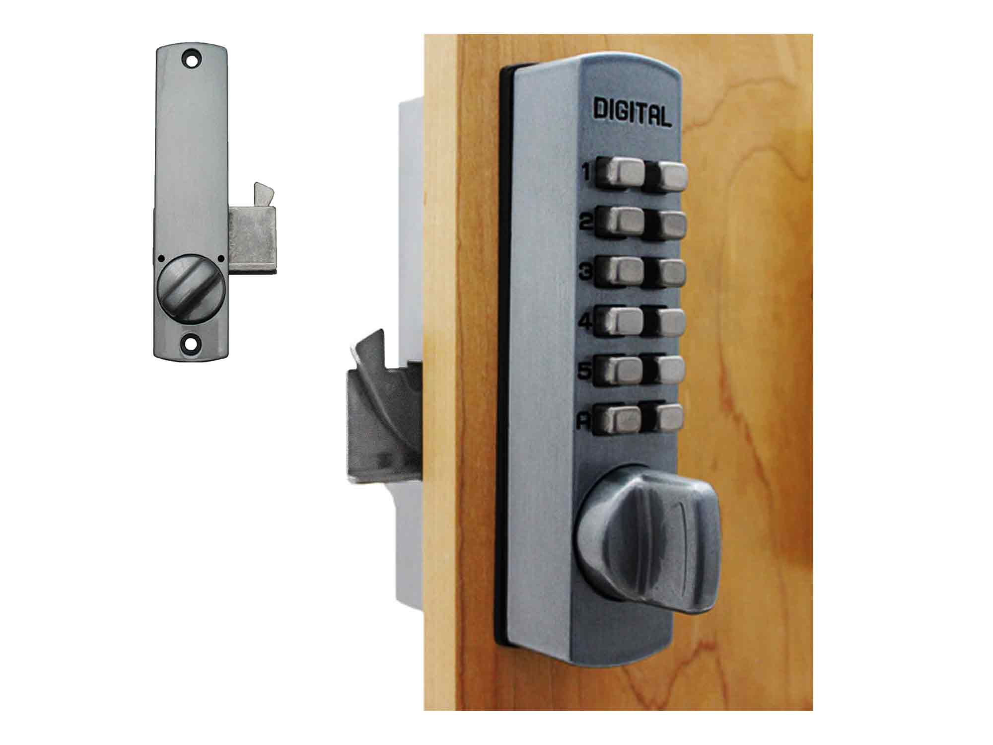 Lockey C150 Surface-Mount Cabinet Hookbolt Keypad Lock - Click Image to Close