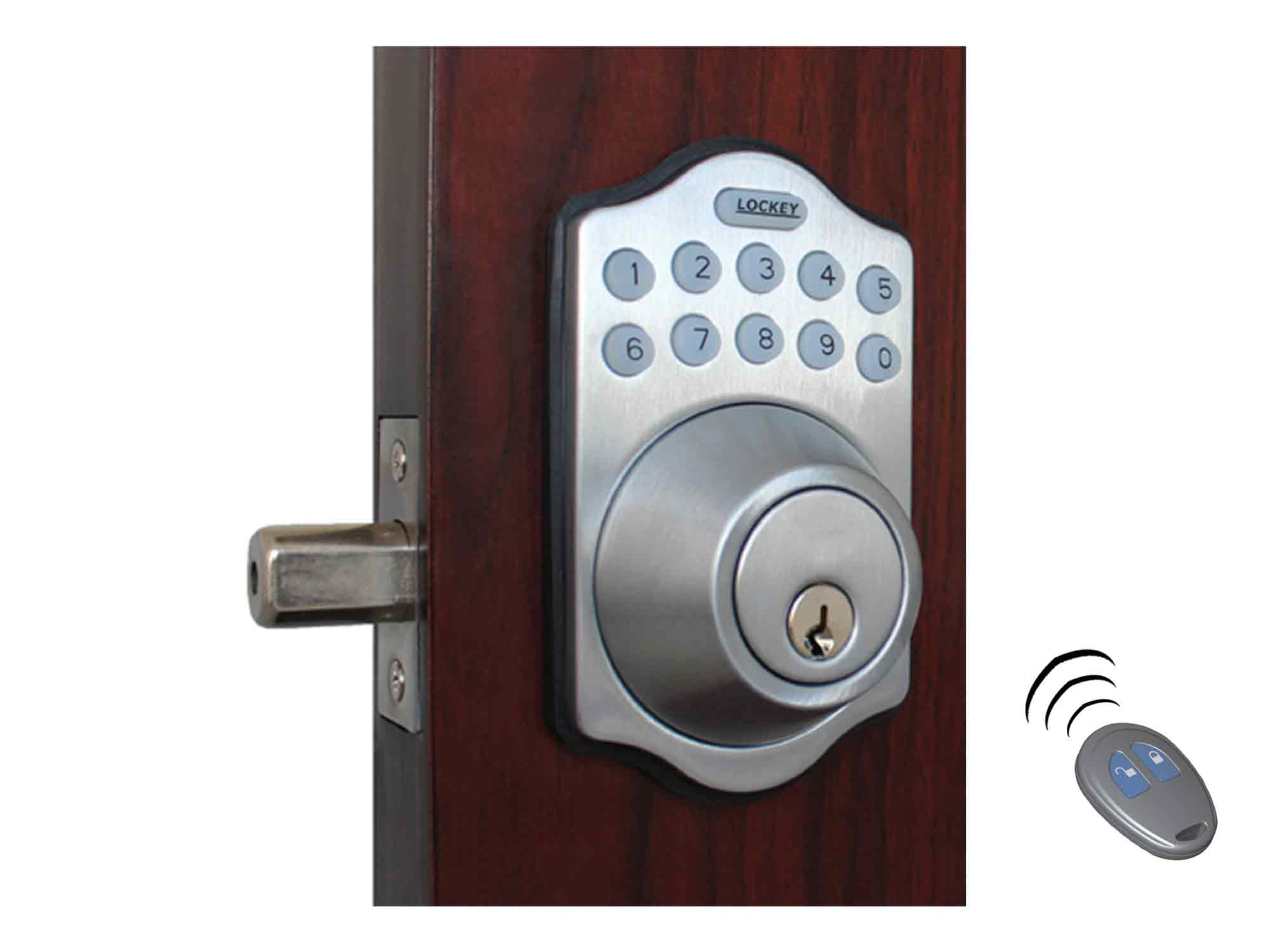 Lockey E910 Electronic Deadbolt Lock (E-Digital)