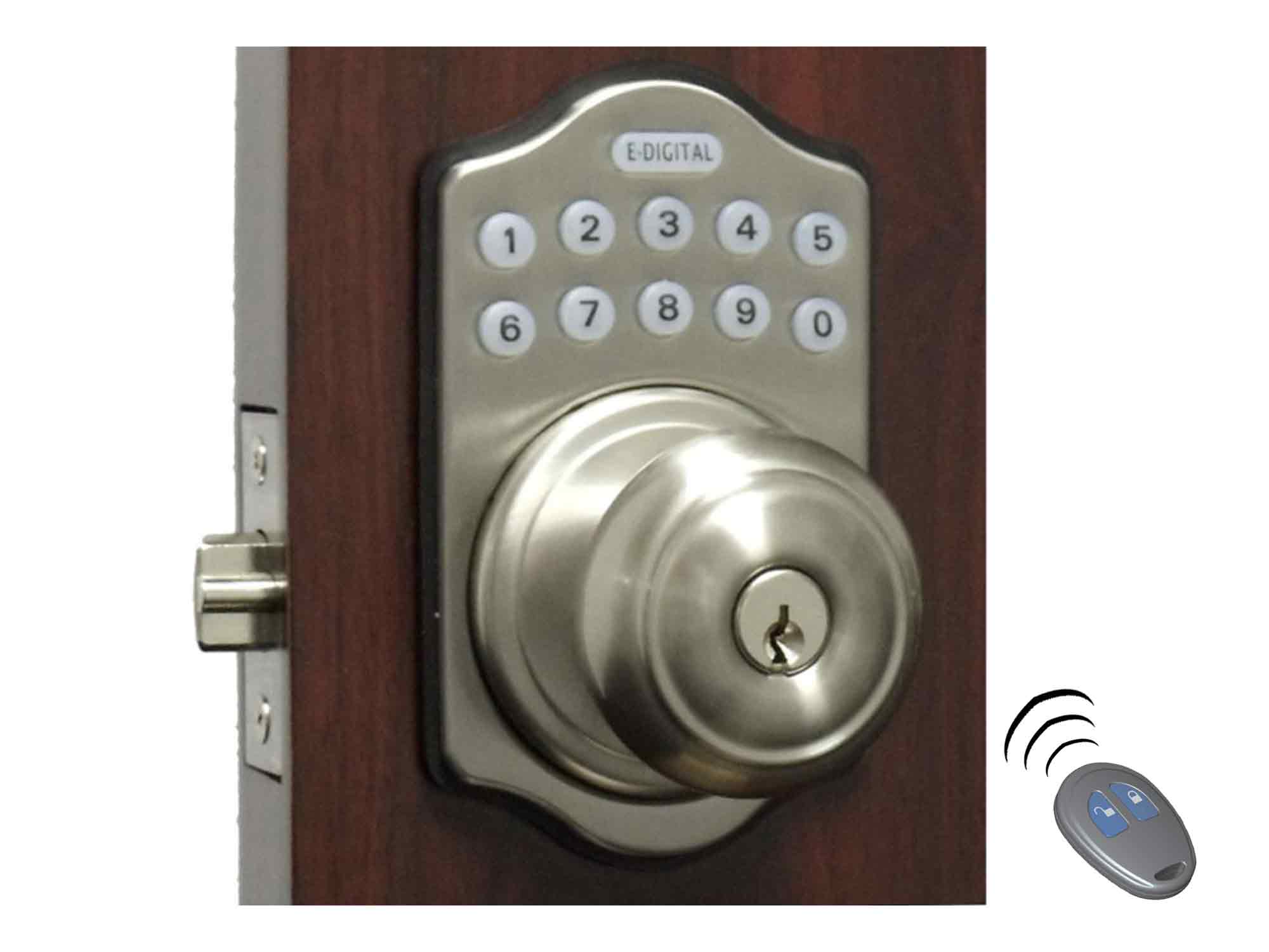 Lockey E930 Electronic Knob-Handle Latchbolt Lock (E-Digital)