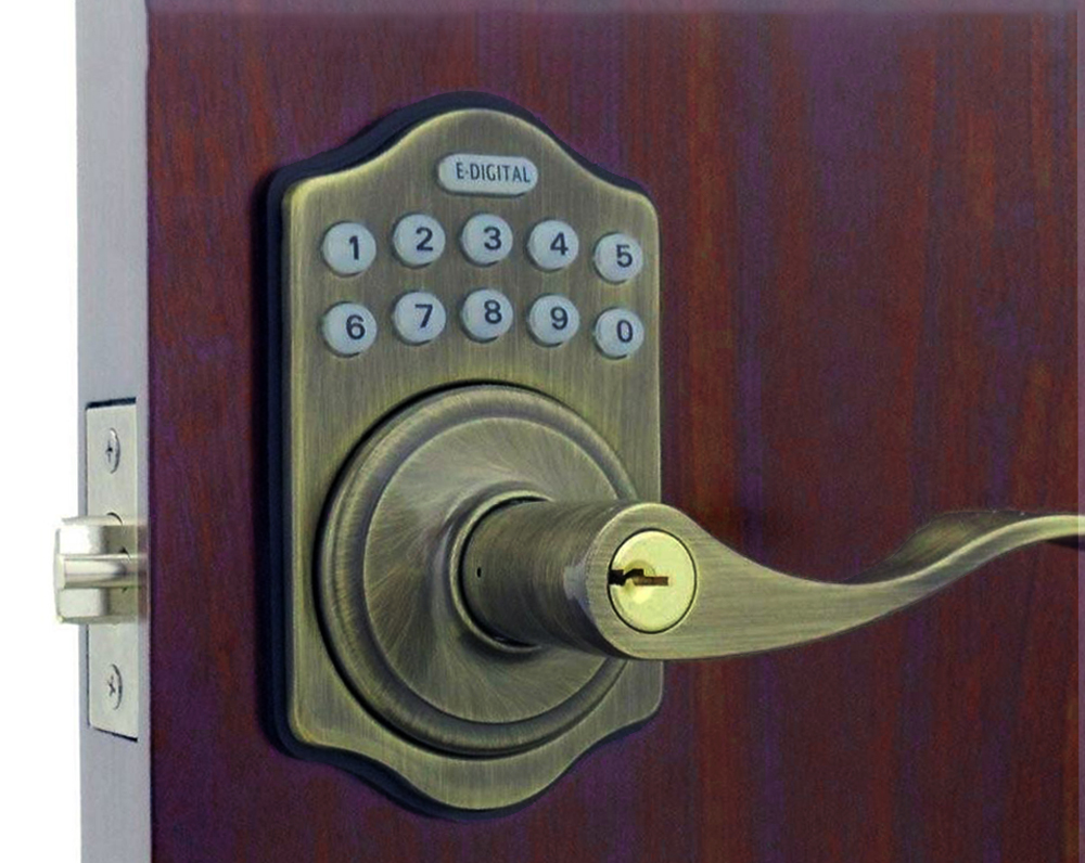 Lever Handle Lock With Keypad Keypad For Front Door