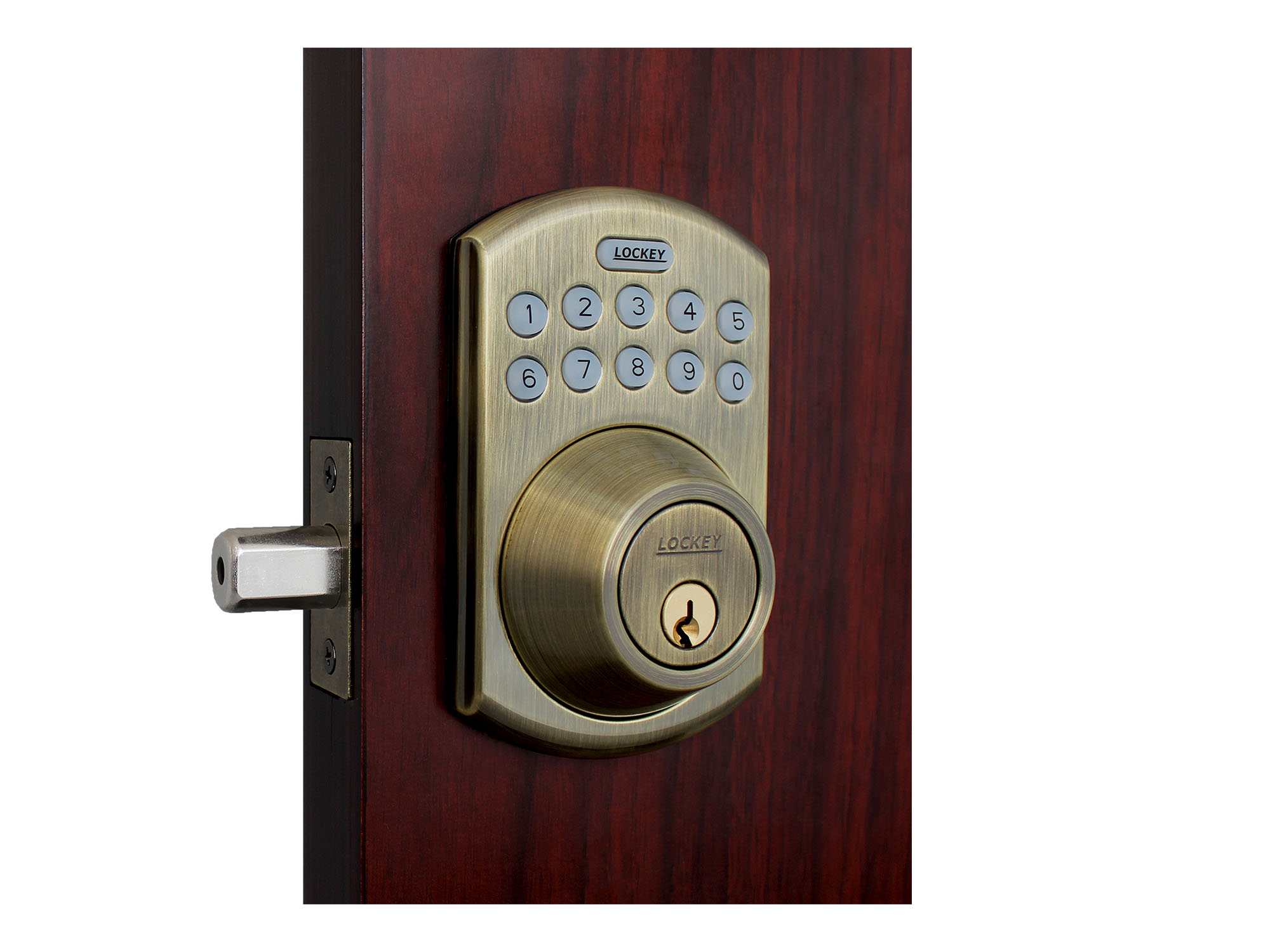 Lockey EB915 Electronic Bluetooth Deadbolt Lock with Lighted Keypad