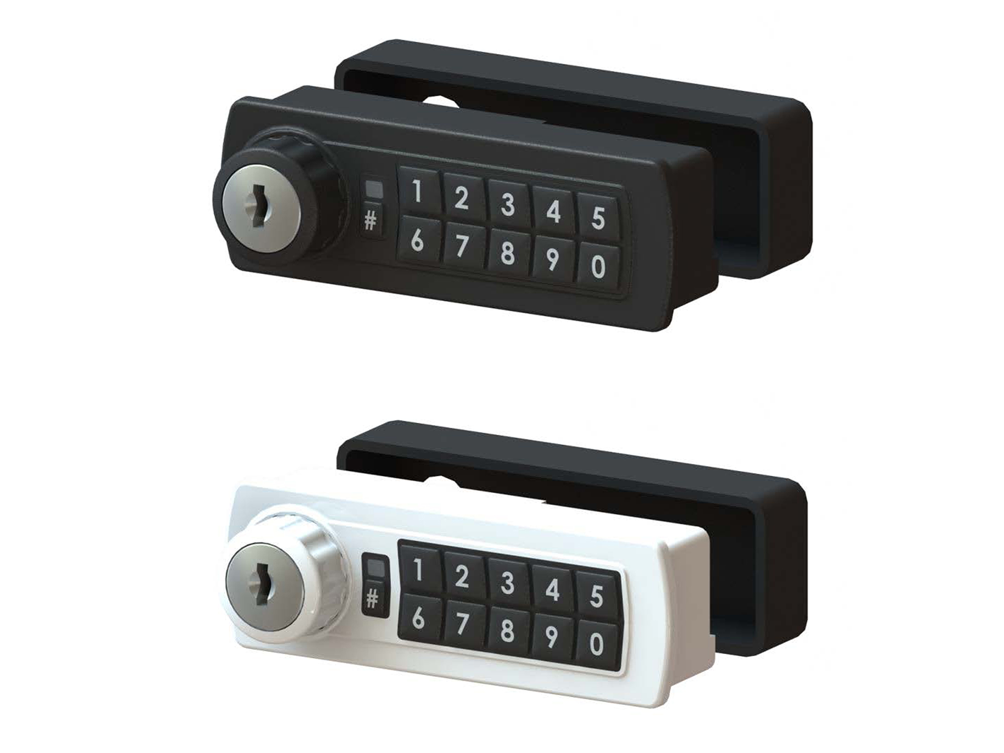 Lockey GE370 Electronic Cabinet/Locker Cam Lock (Gemini)