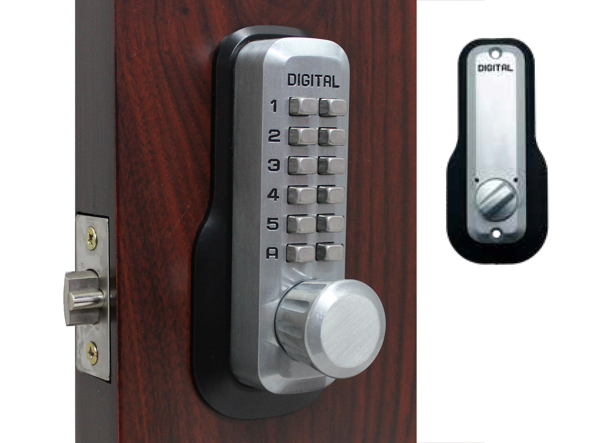 Lockey M230 Deadlocking Spring Latchbolt Keypad Lock