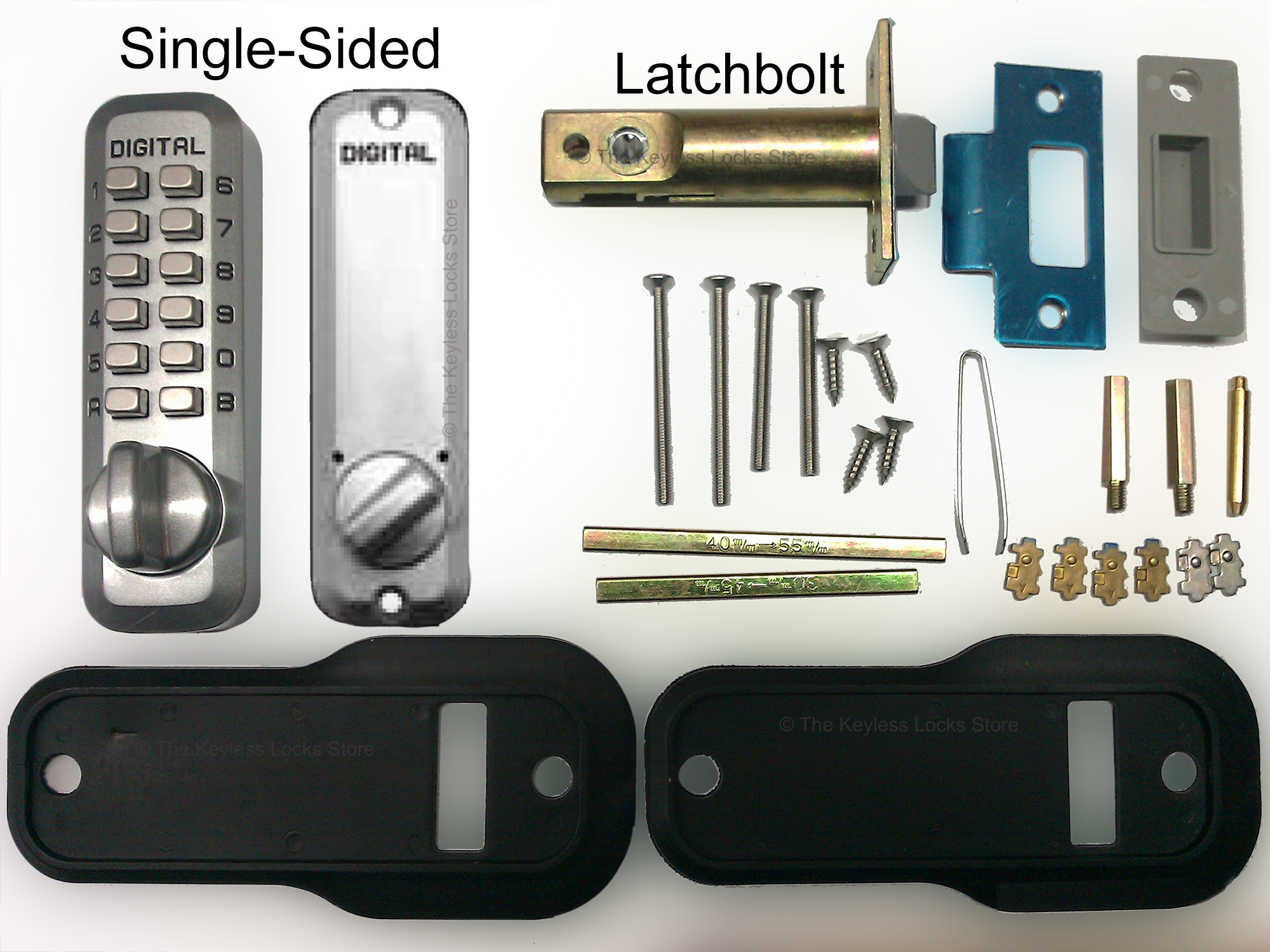 Lockey M230 Spring Latchbolt Lock