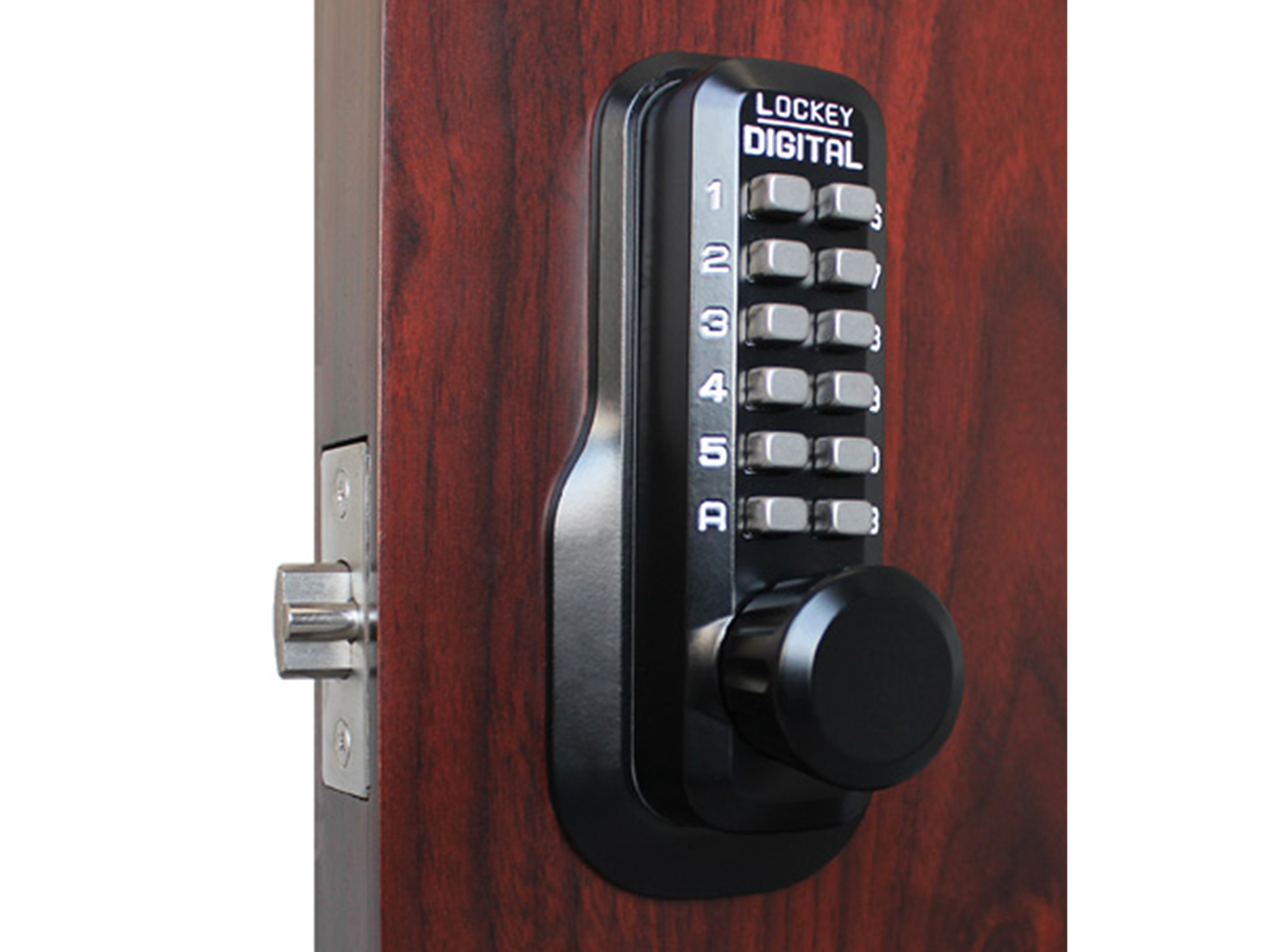 Lockey M230 Spring Latchbolt Lock - Click Image to Close