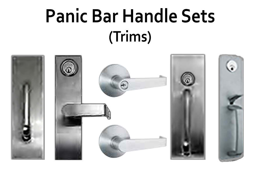 Keyless Locks For Doors With Panic Bars Panic Door Lock