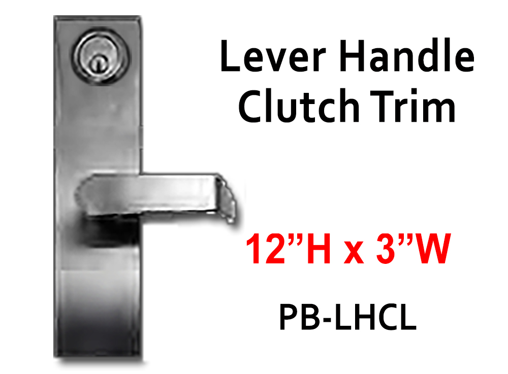 Lockey Panic Bar Handles (Trims)