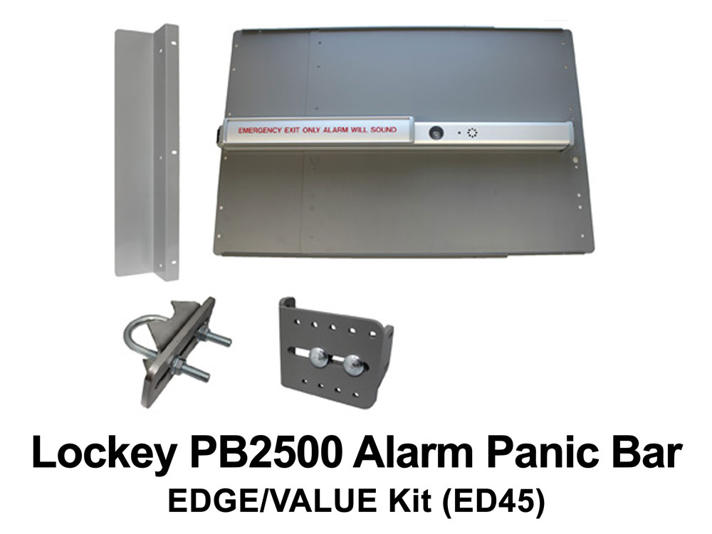 Lockey Panic Shield Kits: EDGE/VALUE (ED40 to ED45)