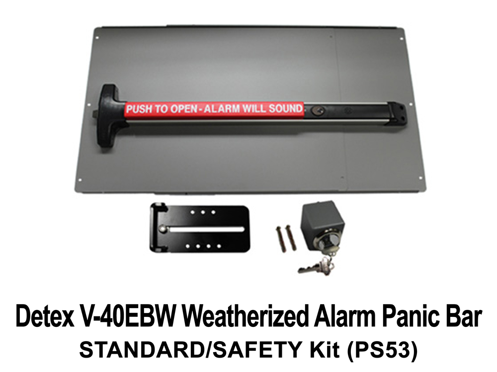 Lockey Panic Shield Kits: STANDARD/SAFETY (PS50 to PS55) - Click Image to Close