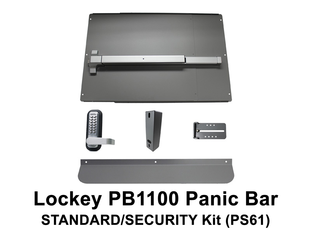 Lockey Panic Shield Kits: STANDARD/SECURITY (PS60 to PS65)