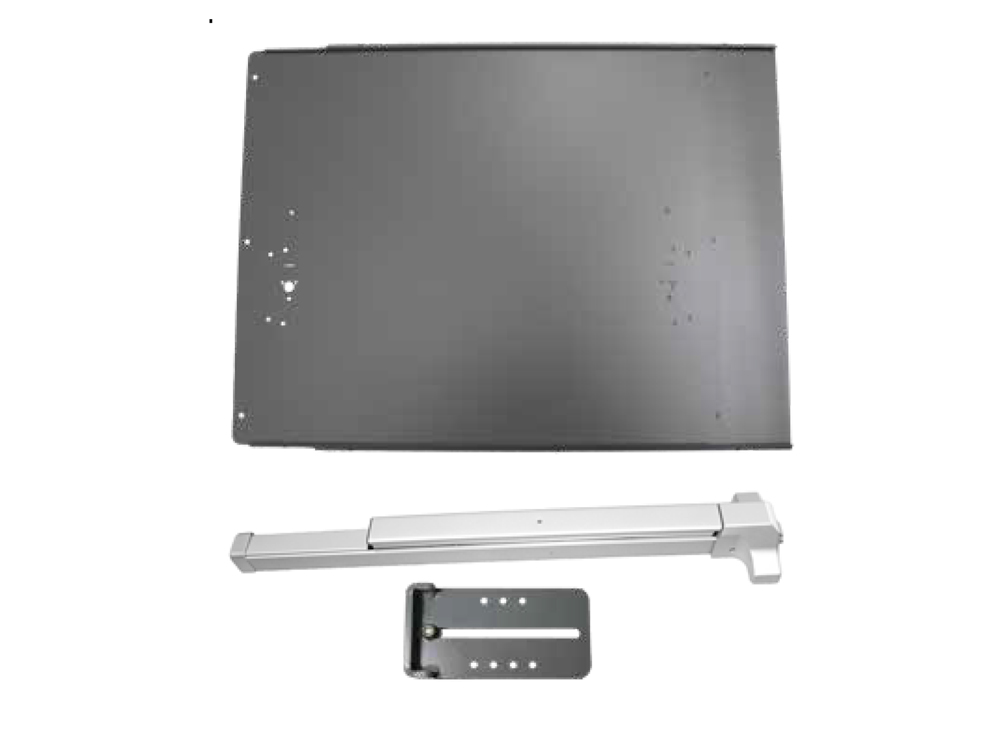 Lockey Panic Bar Shield Kits: STANDARD/VALUE (PS40 to PS45)