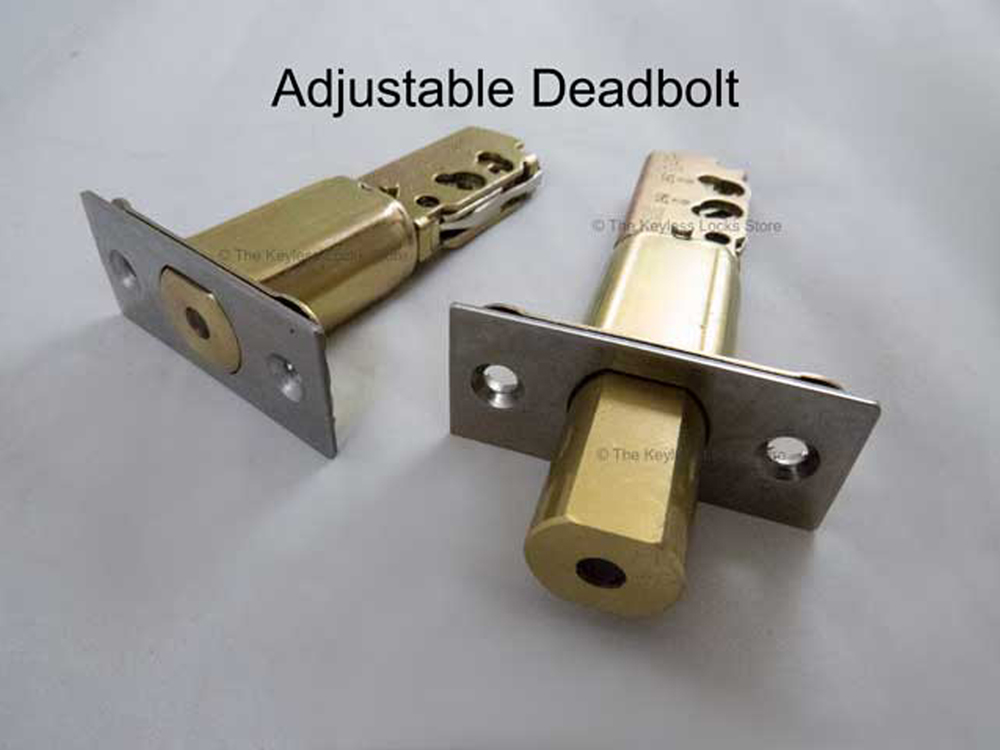 Lockey Replacement Deadbolt: Adjustable Cylindrical-Type for 2210, 3210, M210
