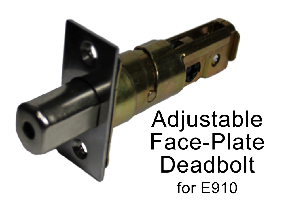 Lockey Replacement Deadbolt: Adjustable Cylindrical-Type for E-Digital 910