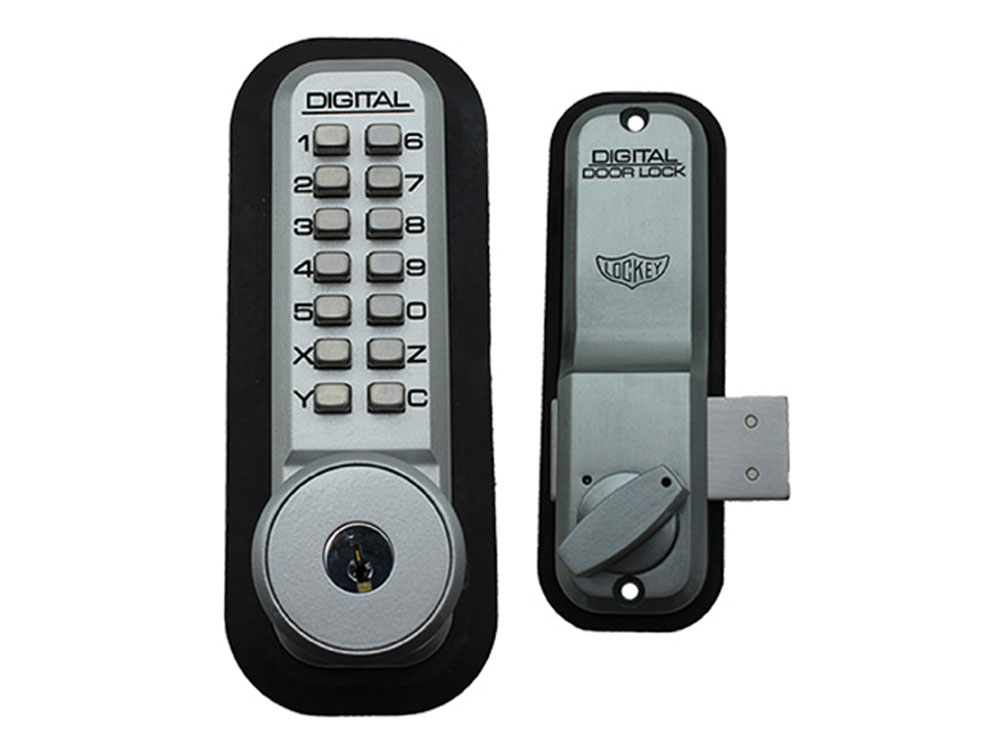 Lockey Replacement Lock Bodies - 2200KO with Built-in Key Override