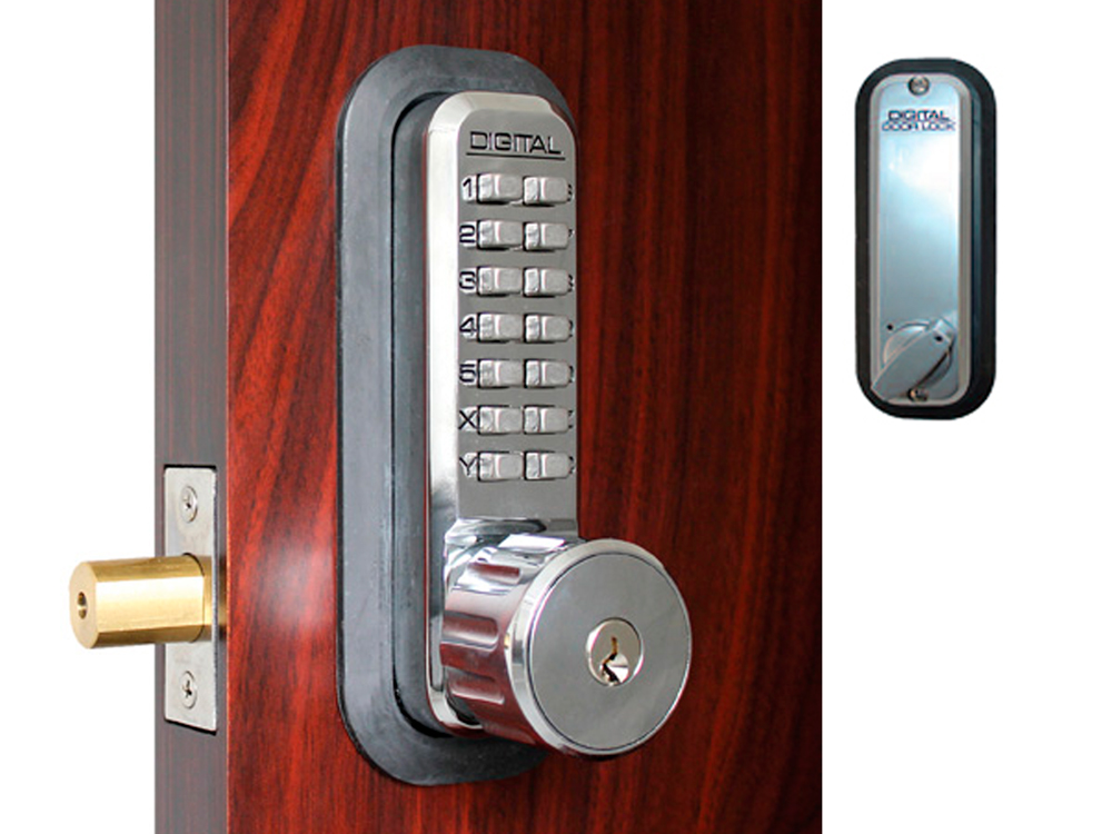 Lockey Replacement Lock Bodies - 2210KO with Built-in Key Override