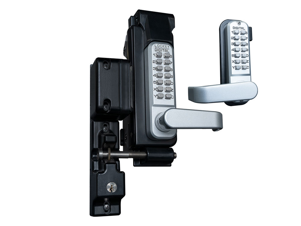 Lockey SUMO GL2-DC Heavy-Duty Passage Lever-Handle Latchbolt Double-Keypad Lock with Key Lockout Feature