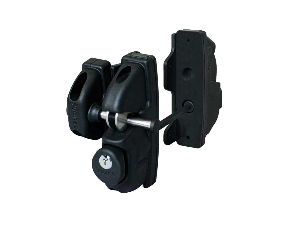Lockey SUMO SGL-DS Heavy-Duty Double-Sided Gravity Gate Latch