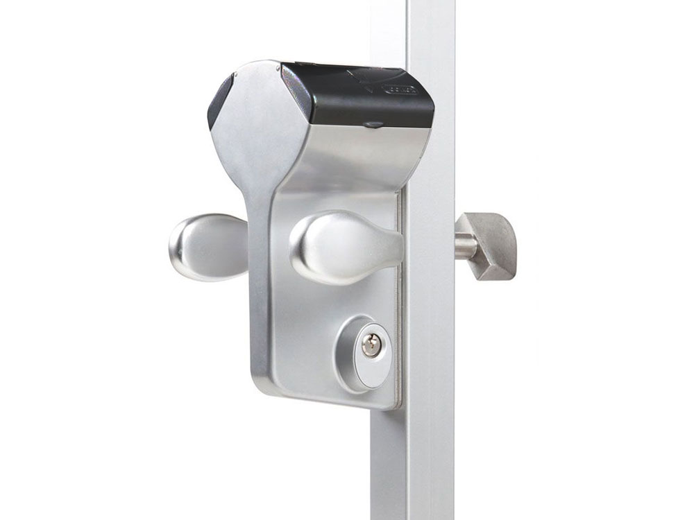 Locinox LLKZ Double-Keypad Hookbolt Lock for Sliding Gates (LEONARDO)