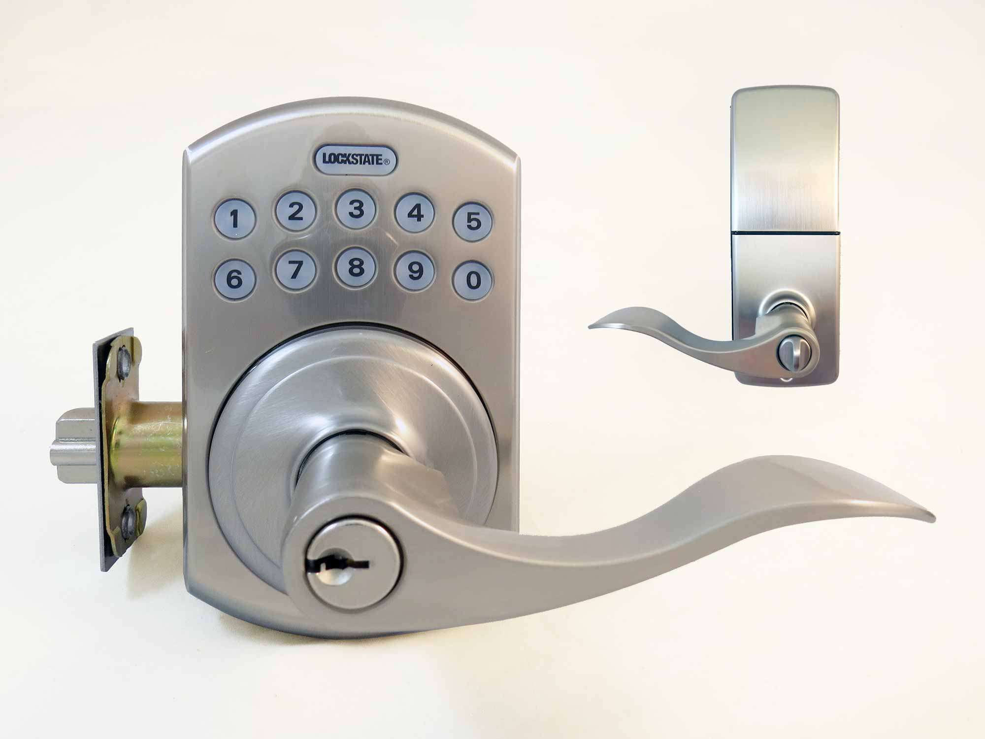 LockState RemoteLock WiFi Lever-Handle Latchbolt 5i-B