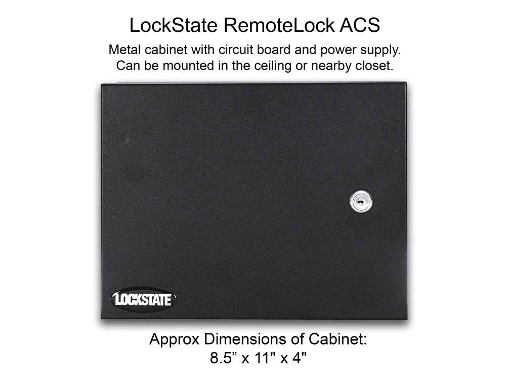 LockState RemoteLock ACS (Access Control System for 1 to 6 Doors)