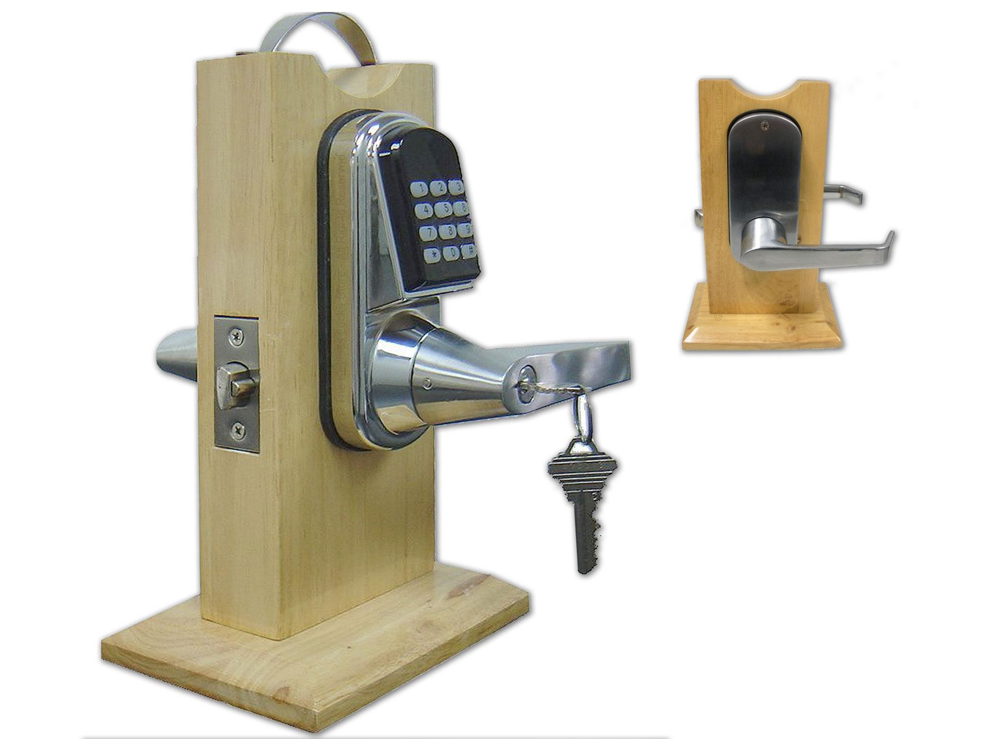 11 Installation And Documentation Keyless Entry Locks Keypad Electronic Security Door Key Circuit Diagram Instructions Eternity E5rf Proximity Card Lock