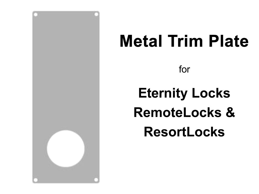 Eternity Metal Trim Plates