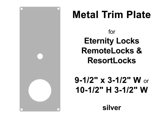 Metal Trim Plates - Assorted