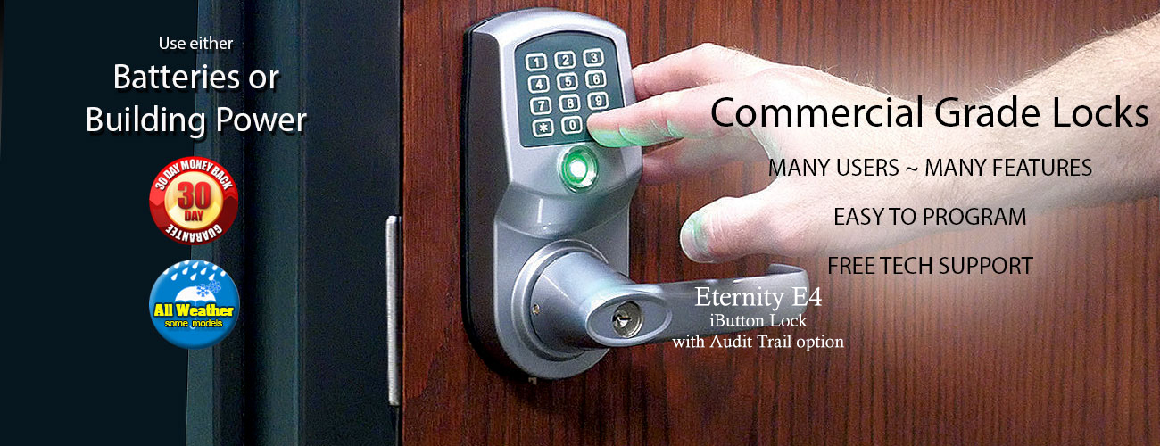 Commercial grade locks with serious features for business...