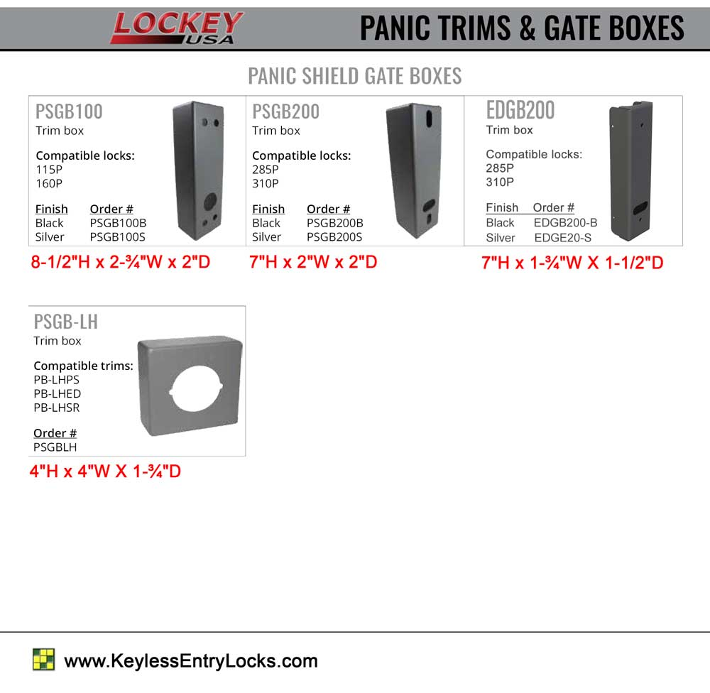 Lockey Panic GateBoxes