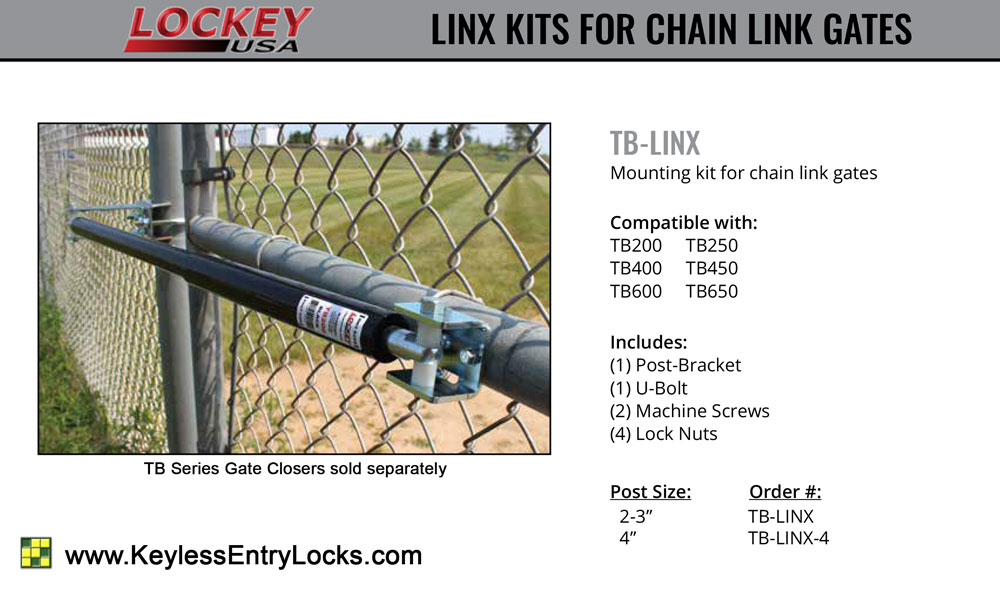 Lockey TB-LINX Chain Link Mounting Kit