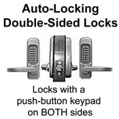 Auto Locking Locks