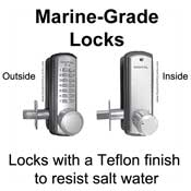 Marine-Grade Locks