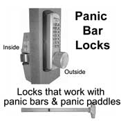 Panic Bar Door Locks