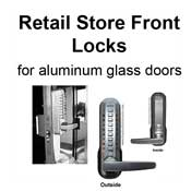 Retail Store Front Locks