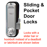 Merveilleux Sliding/Pocket Door Locks