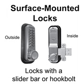 Surface-Mounted Locks
