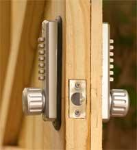 About Us Keyless Entry Locks Keypad Pushbutton